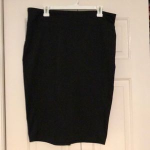 Black Skirt by 14th and Union, Size 14